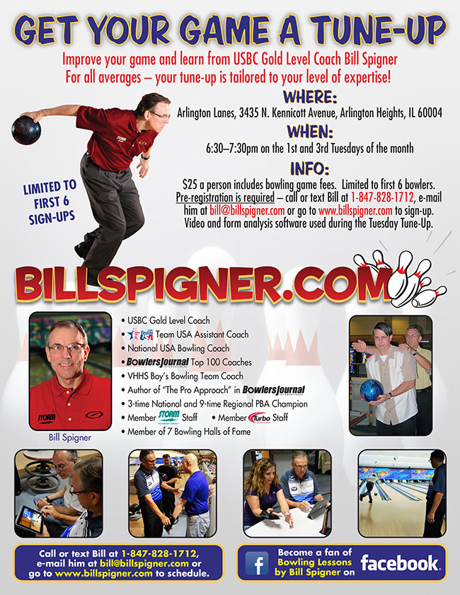 Tuesday Tune-Ups with Bill Spigner
